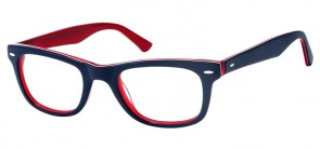PATTERSON BLUE  RED